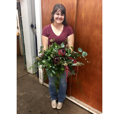 Jessica Beard, Office Manager and Bridal Bouquet Specialist