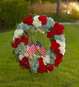 The To Honor One's Country Wreath