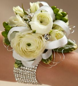 The White Wedding Corsage
