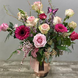 Premium Spring Rose Arrangement