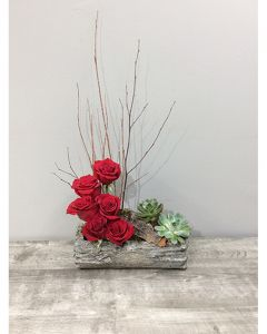Woodsy Roses