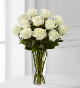 `The White Rose Bouquet